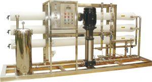 تولید دستگاه تصفیه آب صنعتی بصورت سفارشی