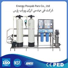 تصفیه آب صنعتی با ظرفیت 12/000 لیتر