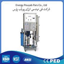 تصفیه آب صنعتی با ظرفیت 6/000 لیتر