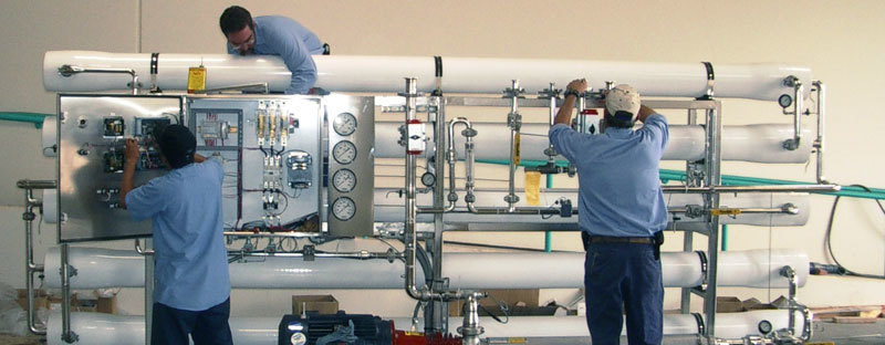 دستگاه تصفیه آب صنعتی و انواع آب شیرین کن ها