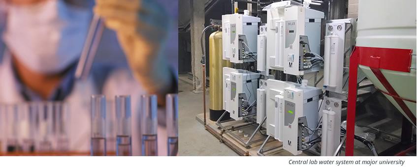 دستگاه تولید آب مقطر آزمایشگاهی